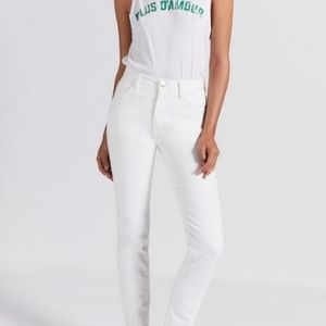Current/Elliott vintage cropped slim sugar jeans
